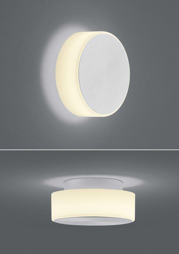 Button LED-Wandleuchte/ Deckenleuchte / klein von BANKAMP Leuchtenmanufaktur