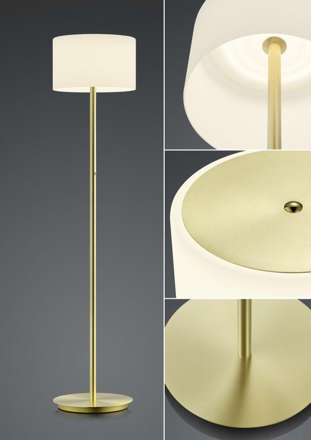 Stehleuchten von BANKAMP Leuchtenmanufaktur LED-Stehleuchte Grazia 6094/1-01