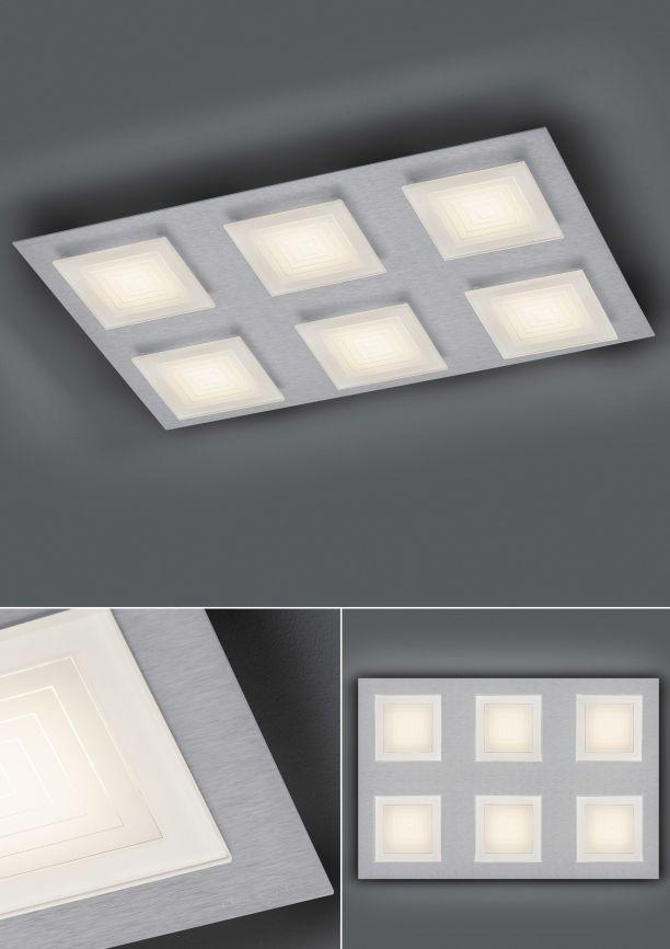 LED-Deckenleuchte Ino/ 6 flammig von BANKAMP Leuchtenmanufaktur
