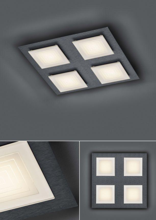 LED-Deckenleuchte Ino/ 4 flammig von BANKAMP Leuchtenmanufaktur