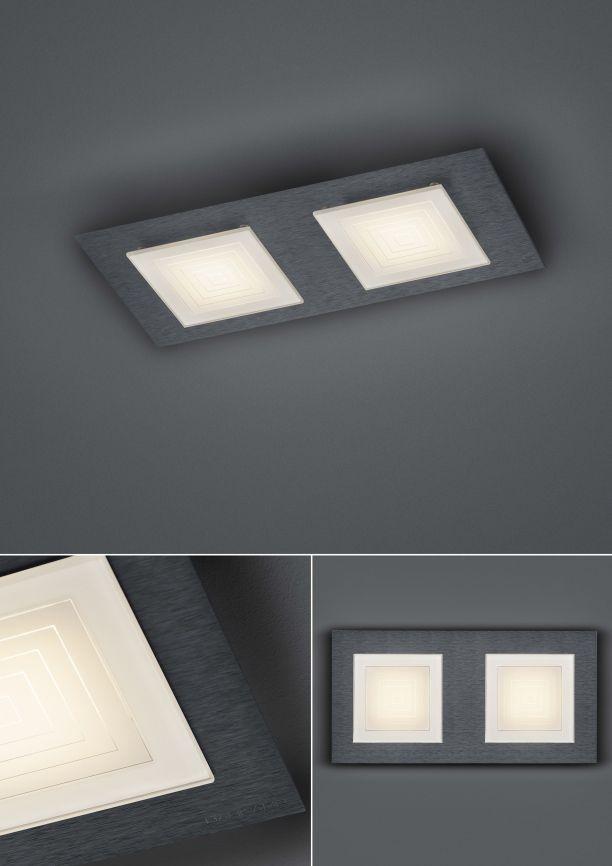 LED-Deckenleuchte Ino/ 2 flammig von BANKAMP Leuchtenmanufaktur