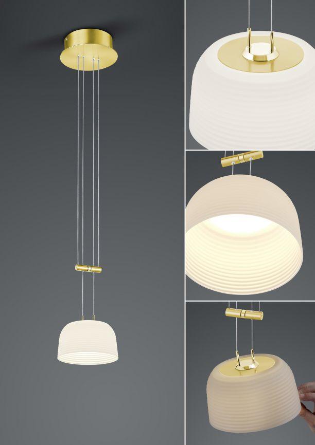 LED-Pendelleuchte Nelia/ 1flammig von BANKAMP Leuchtenmanufaktur