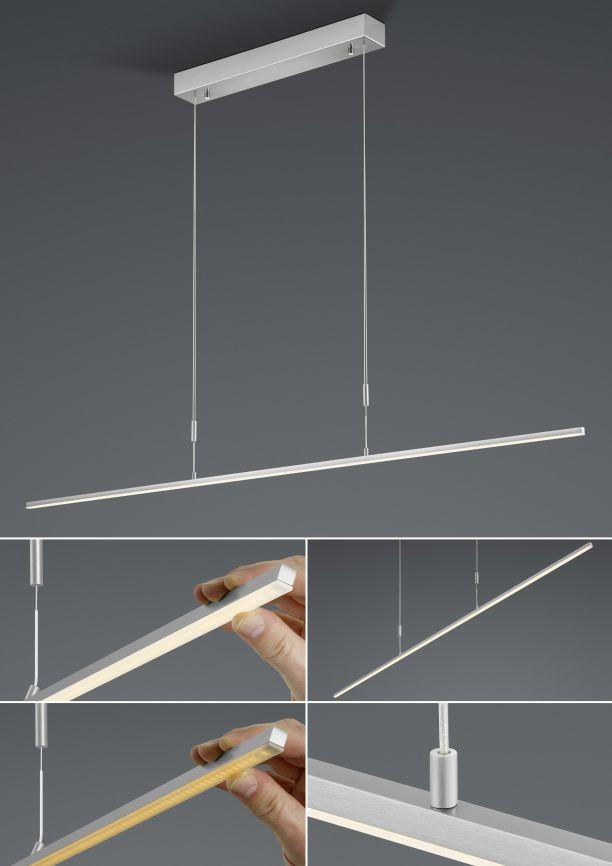 BANKAMP LeuchtenmanufakturLED-Hängeleuchte Slim2191/1-92