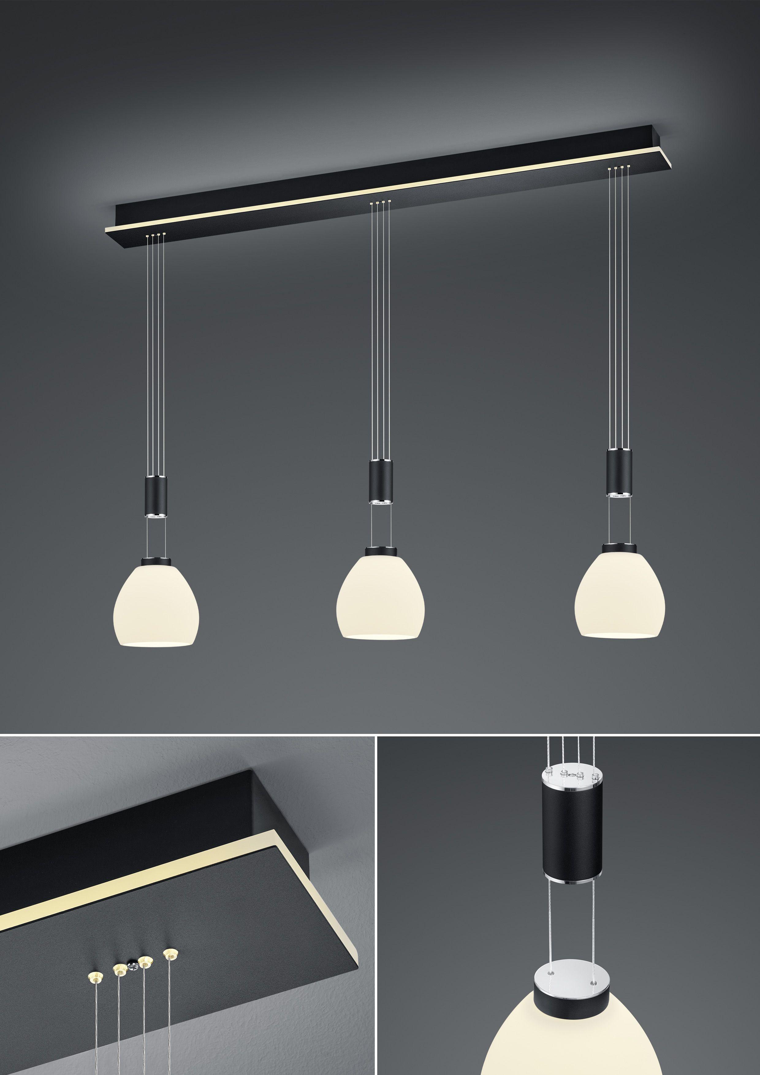 LED-Hängeleuchte SAM 3 flammig von B-Leuchten