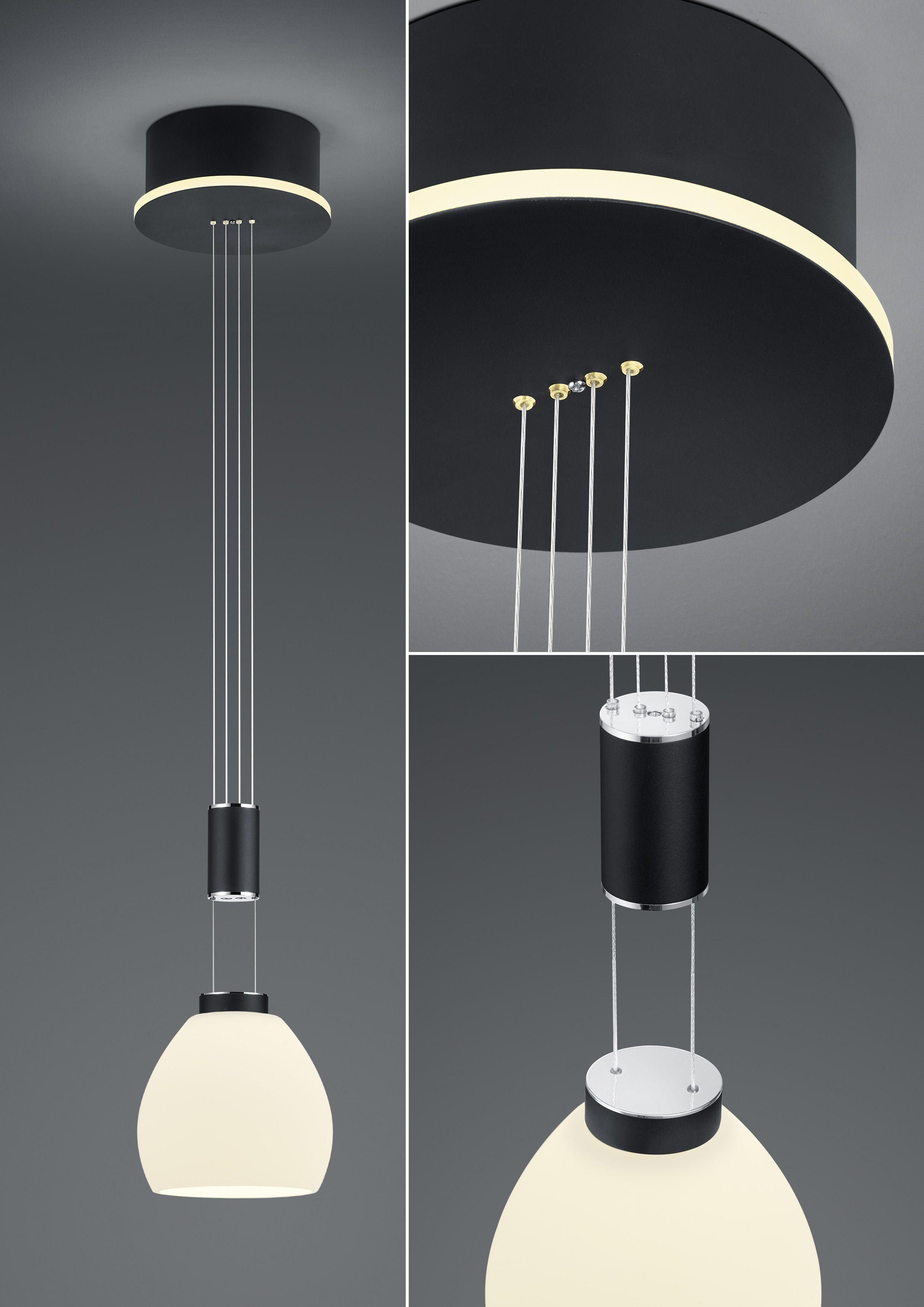 B-Leuchten Artikel von B-Leuchten LED-Hängeleuchte SAM/ 1 flammig 20451/1-06