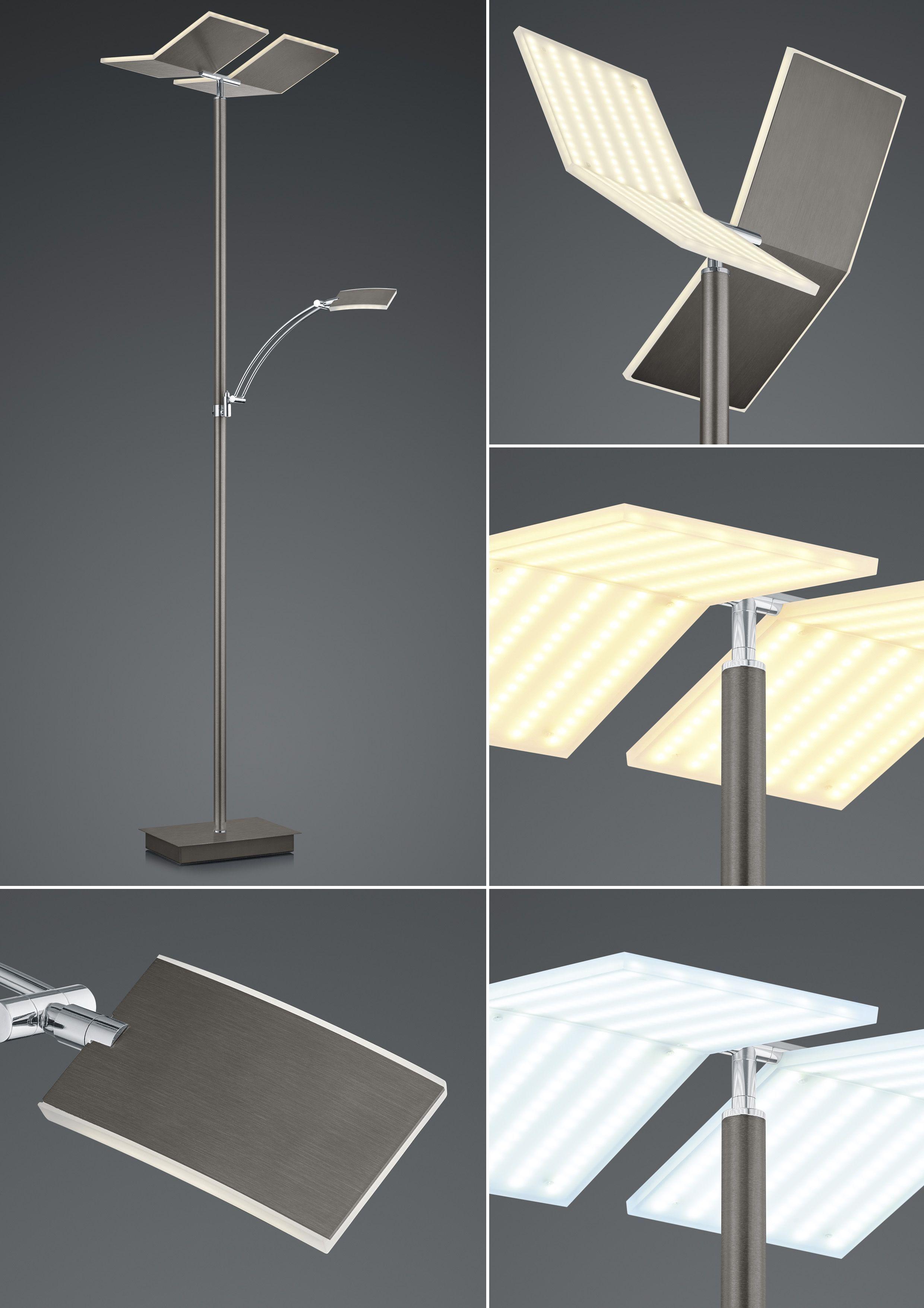 LED-Stehleuchte Domi / CCT Dimmtechnik von B-Leuchten