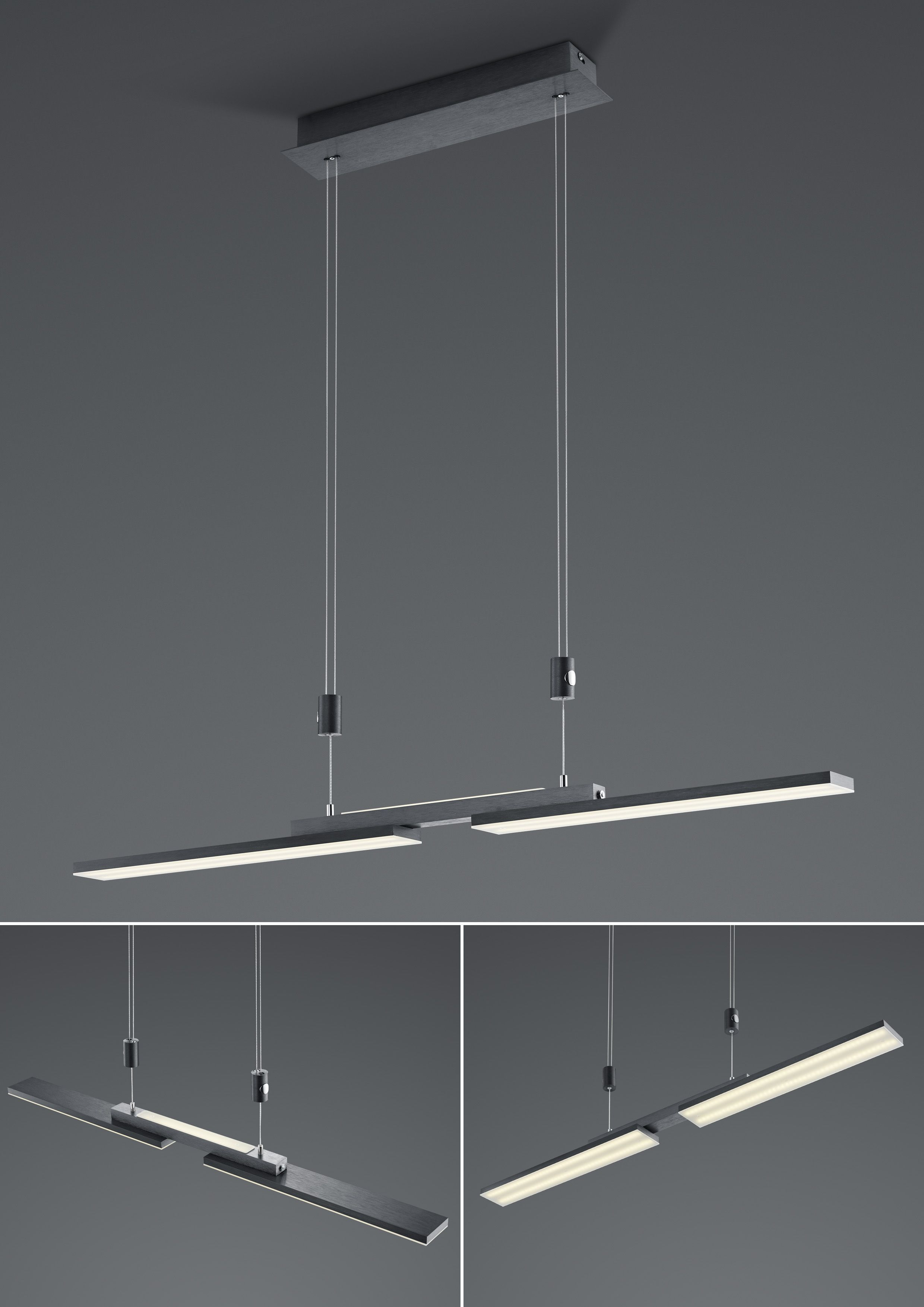 LED-Hängeleuchte Less/ groß von B-Leuchten