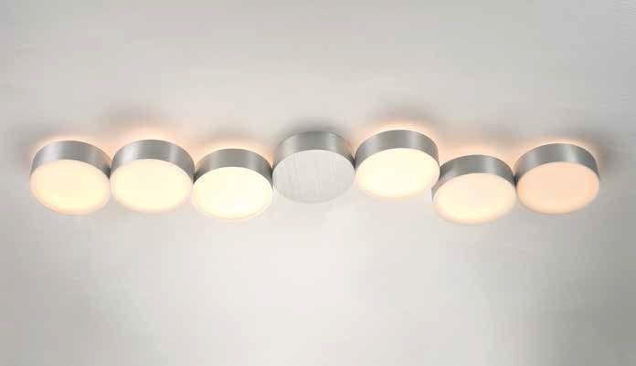 Deckenleuchten von Bopp Leuchten LED Deckenleuchte Touch 6 flammig 83380609