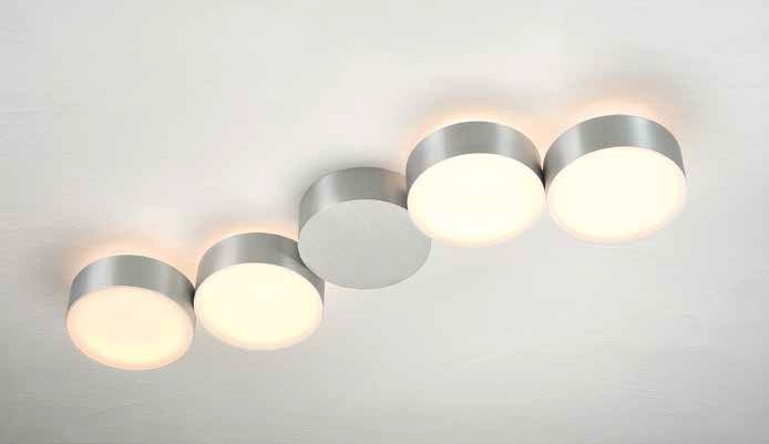 Deckenleuchten von Bopp Leuchten LED Deckenleuchte Touch 4 flammig 83380409