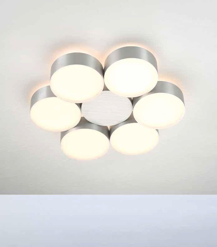Deckenleuchten von Bopp Leuchten LED Deckenleuchte Touch 6 flammig 83360609