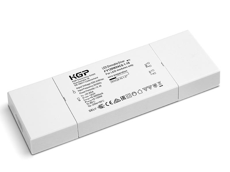 KGP Electronics GmbH Artikel von KGP Electronics GmbH LED- Treiber 24V/120W, dimmbar 1-10V FV120W24CG 1-10