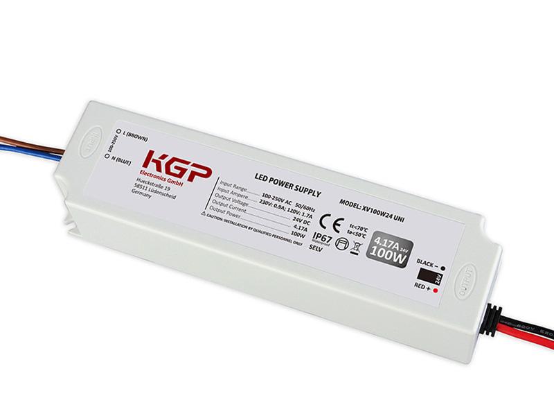 KGP Electronics GmbH Artikel von KGP Electronics GmbH LED- Treiber 24V/100W, IP67 XV100W24 UNI