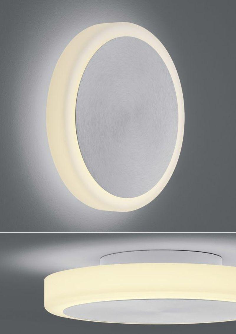 Button LED-Wandleuchte/ Deckenleuchte / groß von BANKAMP Leuchtenmanufaktur
