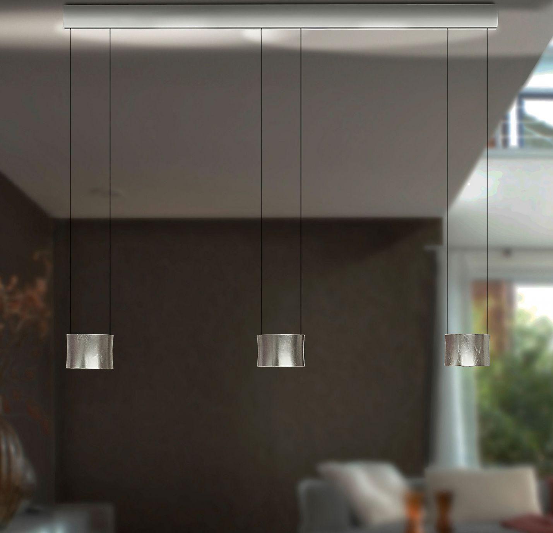 BANKAMP LeuchtenmanufakturLED-Pendelleuchte Luce Elevata Impulse LED - Badachin weißL2024.3-50