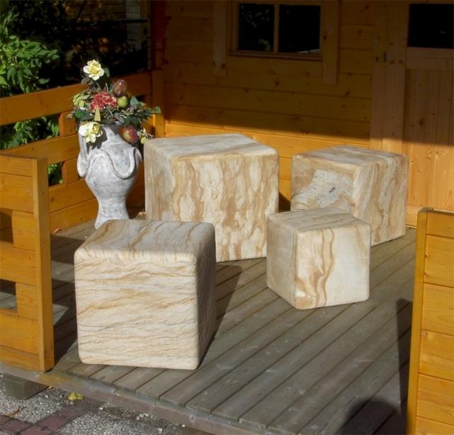 EPSTEIN Design Leuchten Artikel von EPSTEIN Design Leuchten Sahara Würfel 35 cm 10355