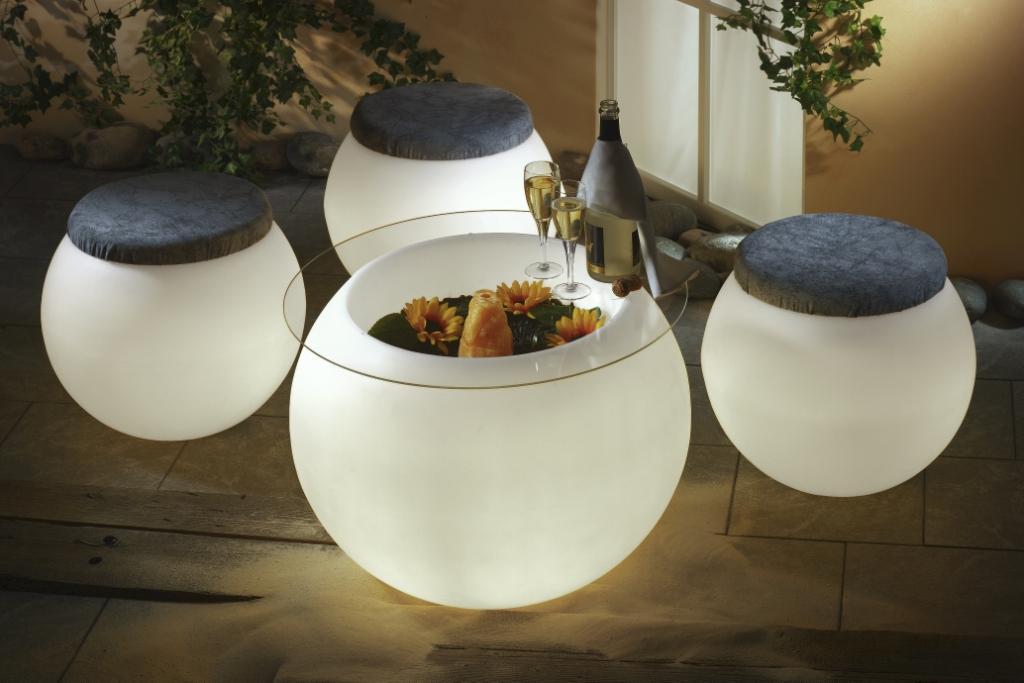 Flora Zubehör Tischplatte von EPSTEIN Design Leuchten