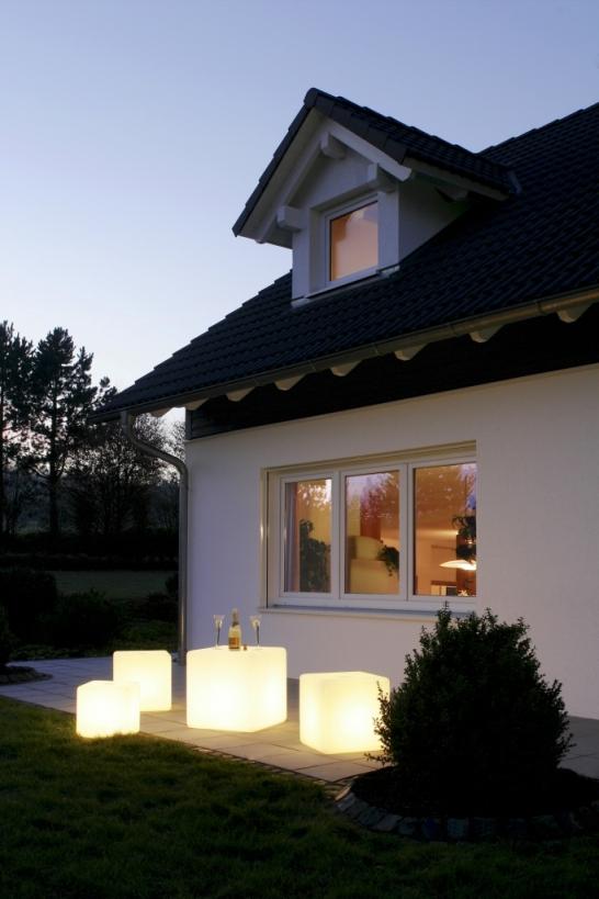 Würfelleuchten von EPSTEIN Design Leuchten Würfel 45 cm 60455