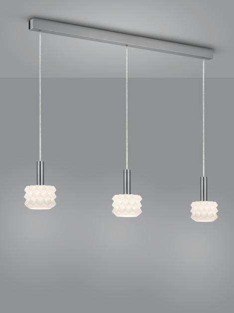 GAIN LED Hängeleuchte/ 3 flammig von Helestra Leuchten
