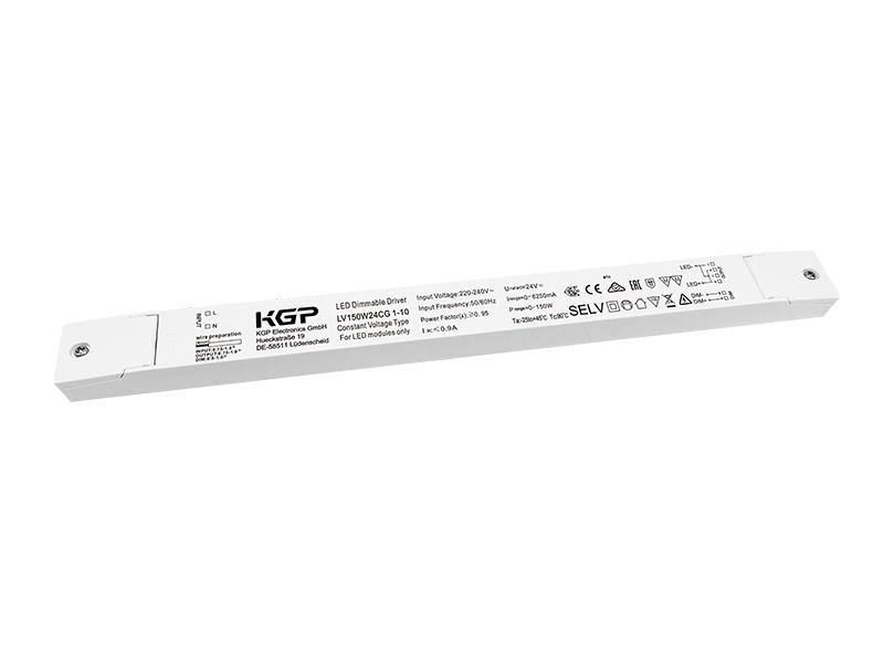 KGP Electronics GmbHLED- Treiber 24V/150W, dimmbar 1-10VLV150W24CG 1-10