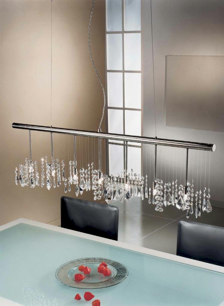 Hängeleuchten von KOLARZ Leuchten Stretta Luster - chandelier verchromt 104.87.5