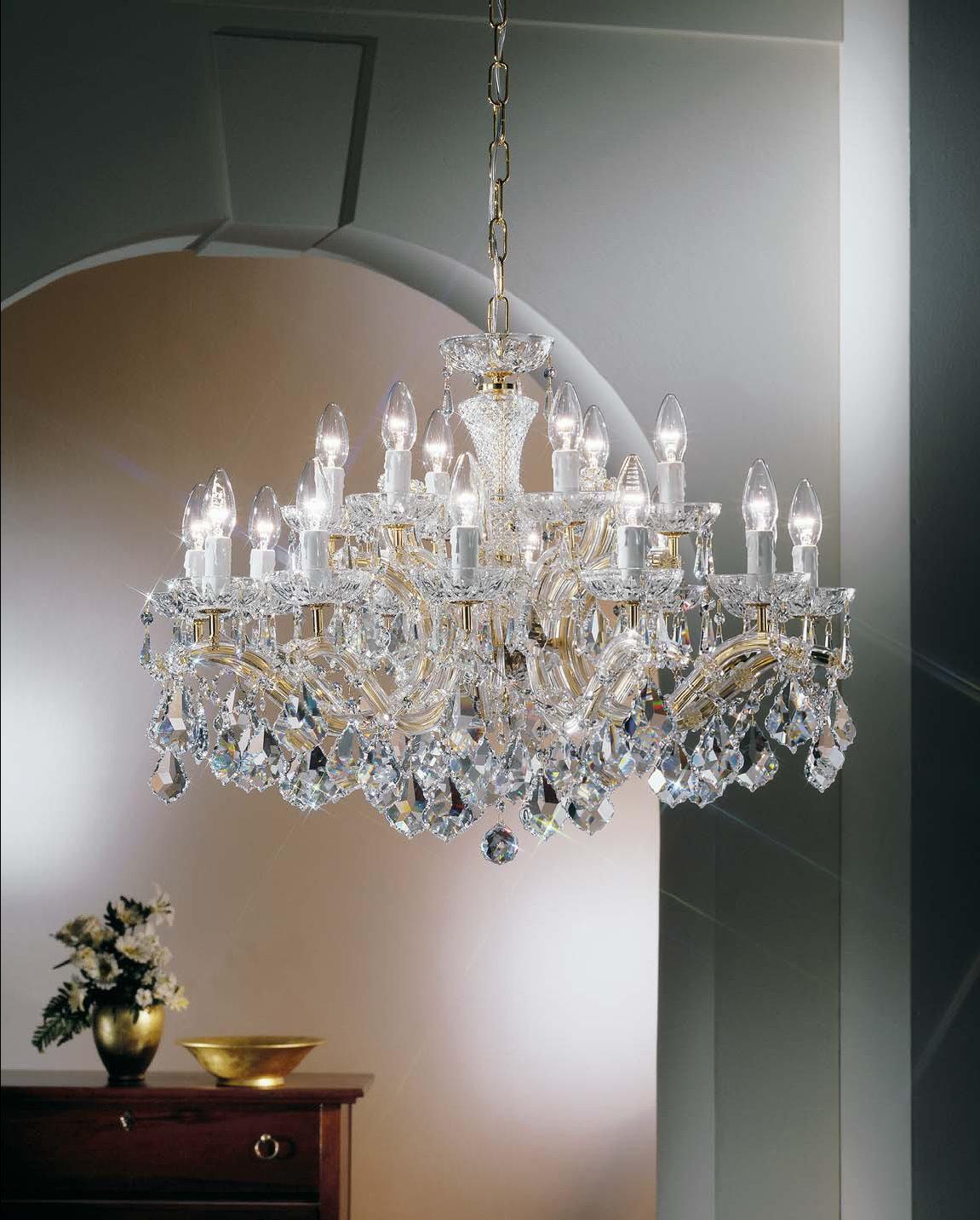 Hängeleuchten von KOLARZ Leuchten Luster-chandelier Maria Louise  Hängeleuchte Ausstellungsstück 149.812+6.3