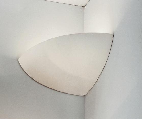 für die Küche von KOLARZ Leuchten Bisquitte Keramik Wandleuchte / Eckwandleuchte 588.64