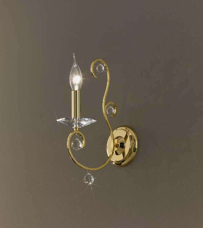 Serie CARAT von KOLARZ Leuchten von KOLARZ Leuchten Carat Wandleuchte 0232.61.3.KpT