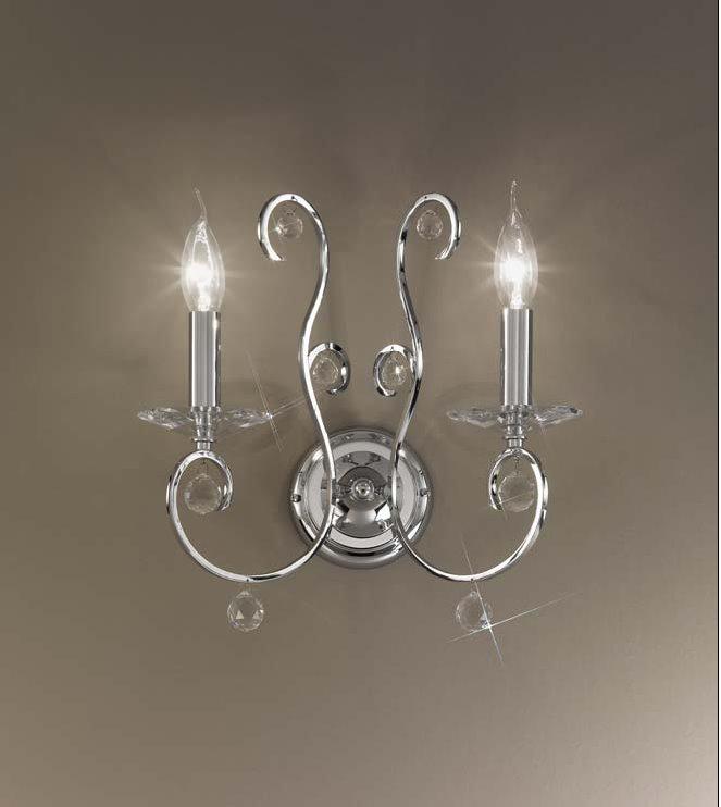 Serie CARAT von KOLARZ Leuchten von KOLARZ Leuchten Carat Wandleuchte 0232.62.5.KpT