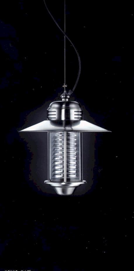 Deckenleuchten von Garden Light FUTURA INOX Hängeleuchte 95002/E20PCT/RSI/SAT