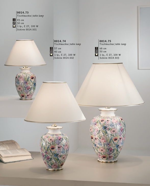 Serie GIARDINO von KOLARZ Leuchten von KOLARZ Leuchten Austrolux Tischleuchte | table lamp Giardino -Panse 0014.73S