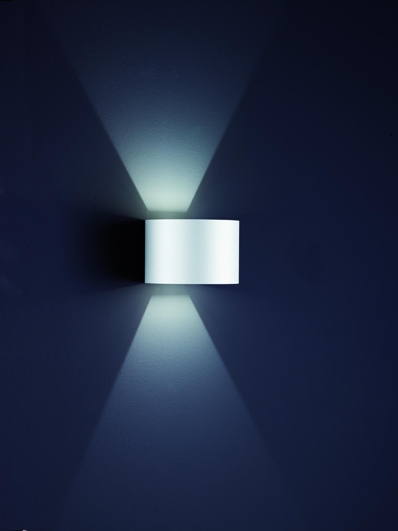 Wandleuchten von Helestra Leuchten SIRI 44 - R LED - Außenleuchte Wandleuchte Lichtaustritt verstellbar A28342.07