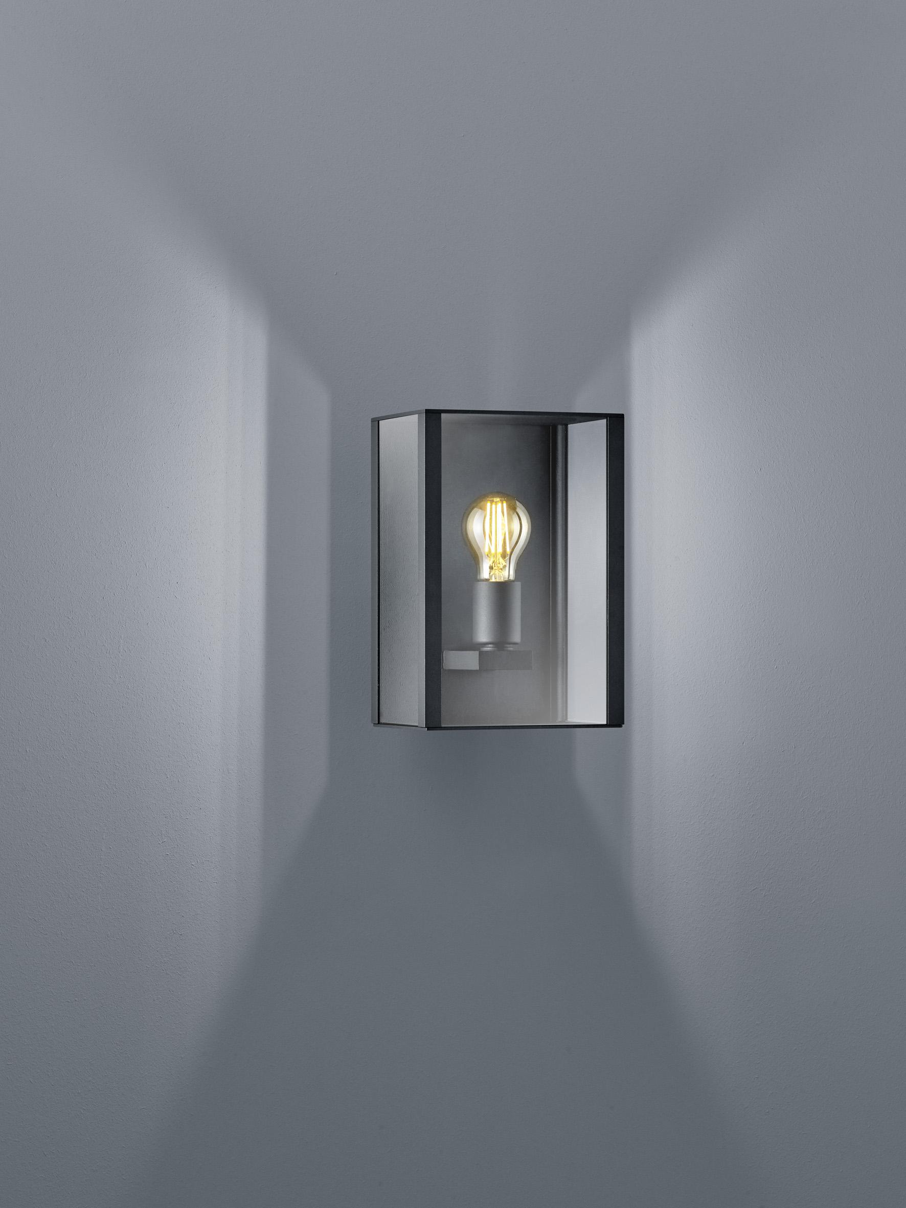 Aussenleuchten von Helestra Leuchten Skip LED- Wandleuchte A18805.93