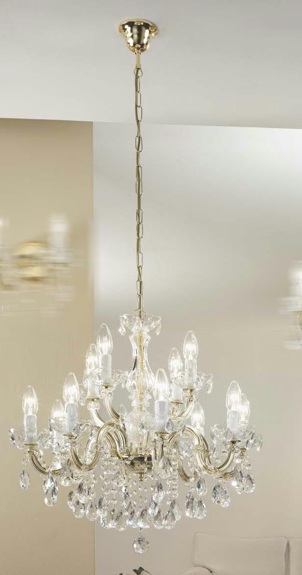Hängeleuchten von KOLARZ Leuchten Valerie Luster | chandelier Kronleuchter 960.88+4