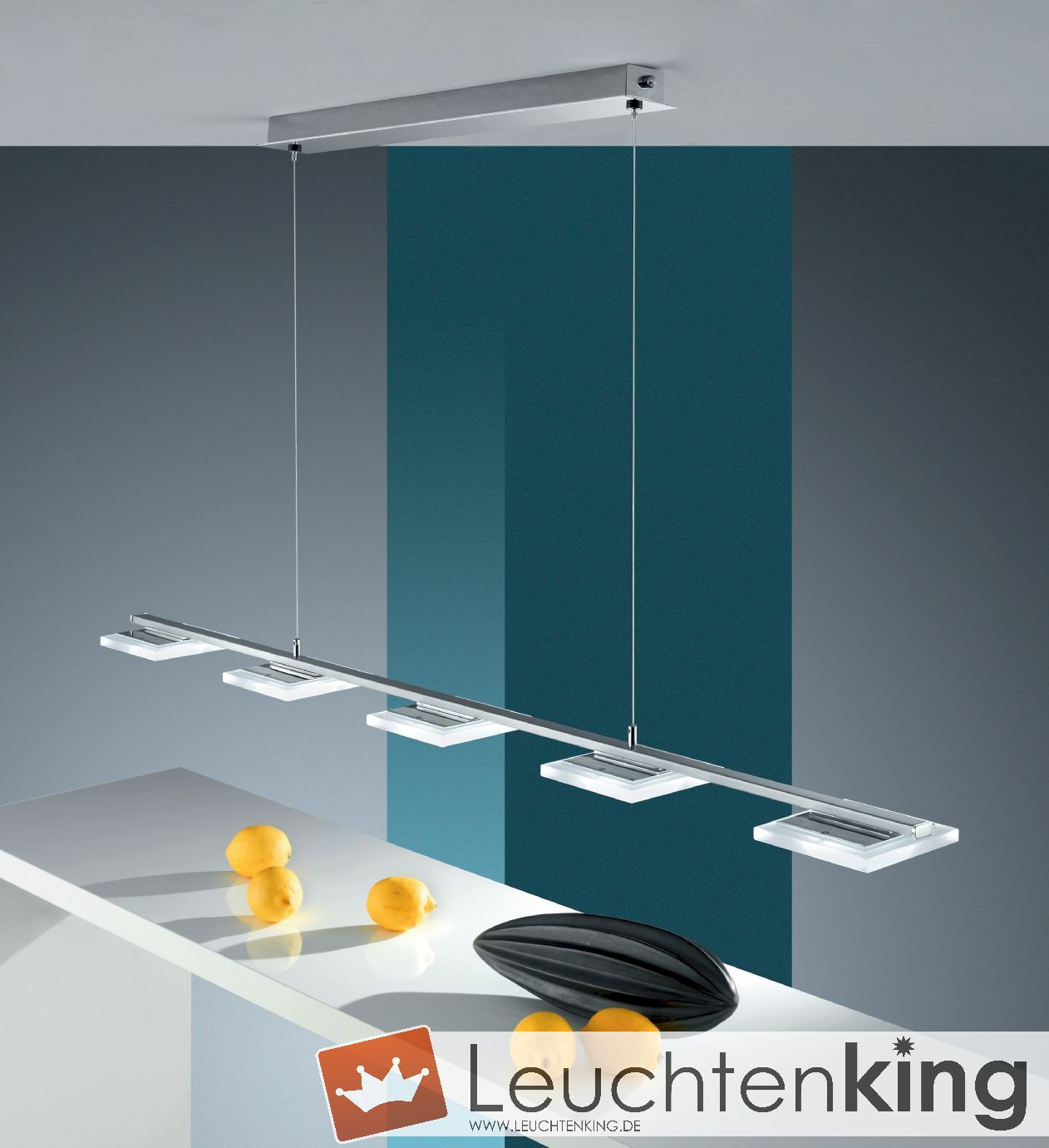 bankamp manhattan pendelleuchte ohne dimmer 2798 5 92 leuchtenking. Black Bedroom Furniture Sets. Home Design Ideas