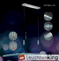 LED-Hängeleuchte Bolero dimmbar via Bluetooth + Easytouch, höhenverstellbar (Nummer alt: 2909/120-92 + 55.0170) von BANKAMP