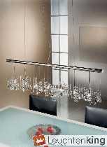 Stretta Luster - chandelier verchromt von KOLARZ Leuchten