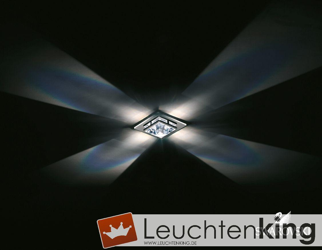 SWAROVSKI LeuchtenMADISON SMALL Decken-EinbauleuchteA9950NR700169