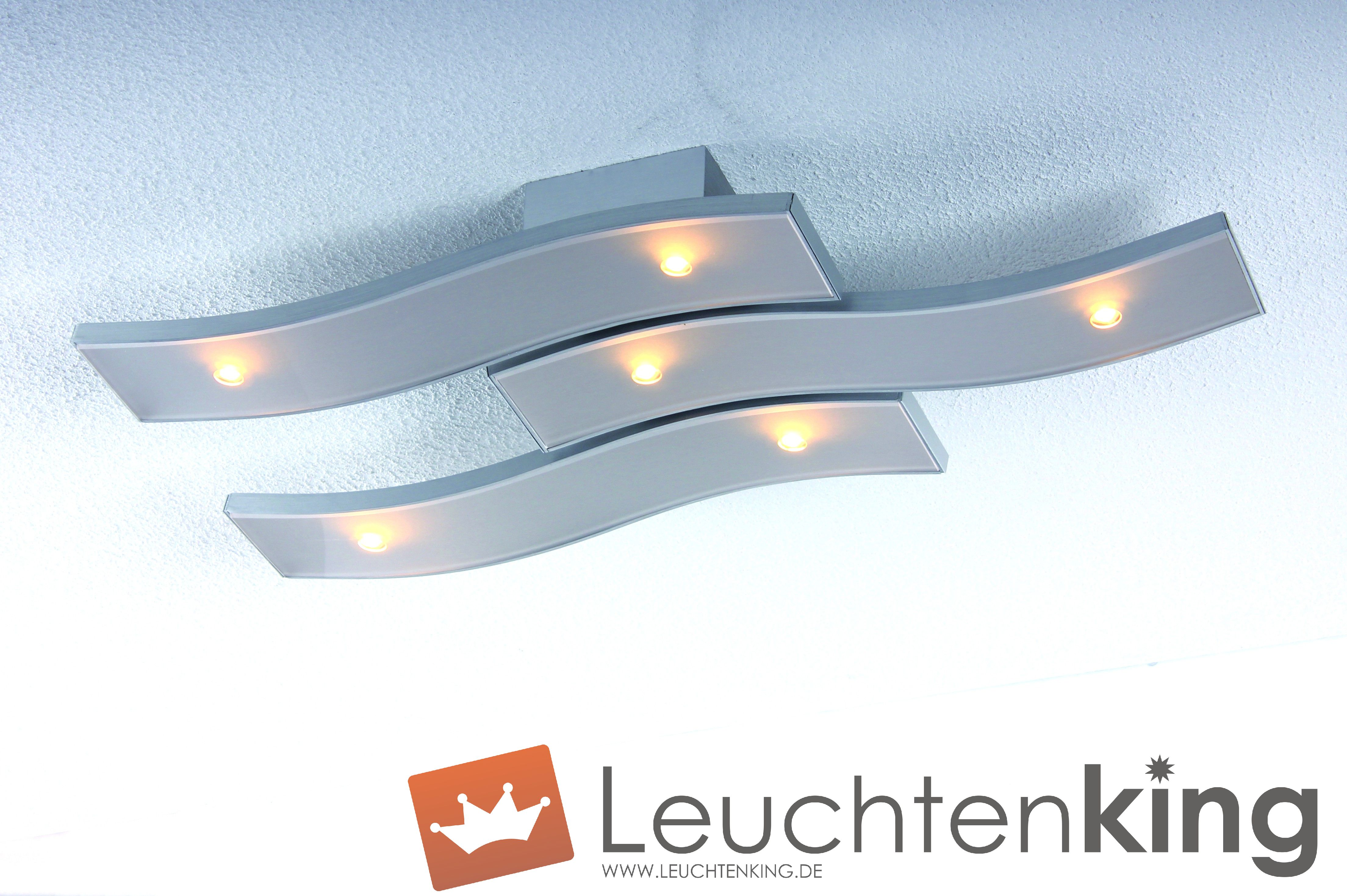 bopp onda led deckenleuchte 6 flammig dimmbar 32280609. Black Bedroom Furniture Sets. Home Design Ideas