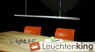LED-Hängeleuchte L-lightLINE - die Leuchte, die mitwächst von BANKAMP Leuchtenmanufaktur