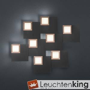 LED-Deckenleuchte Quadro von BANKAMP Leuchtenmanufaktur