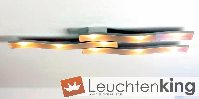 bopp onda led deckenleuchte 9 flammig dimmbar 32280909. Black Bedroom Furniture Sets. Home Design Ideas