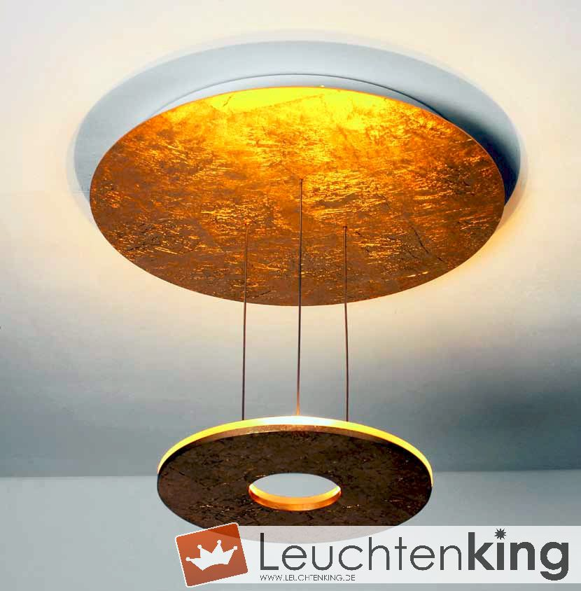 Bopp leuchten saturn led deckenleuchte 3 flammig dimmbar for Wohnzimmerleuchten led