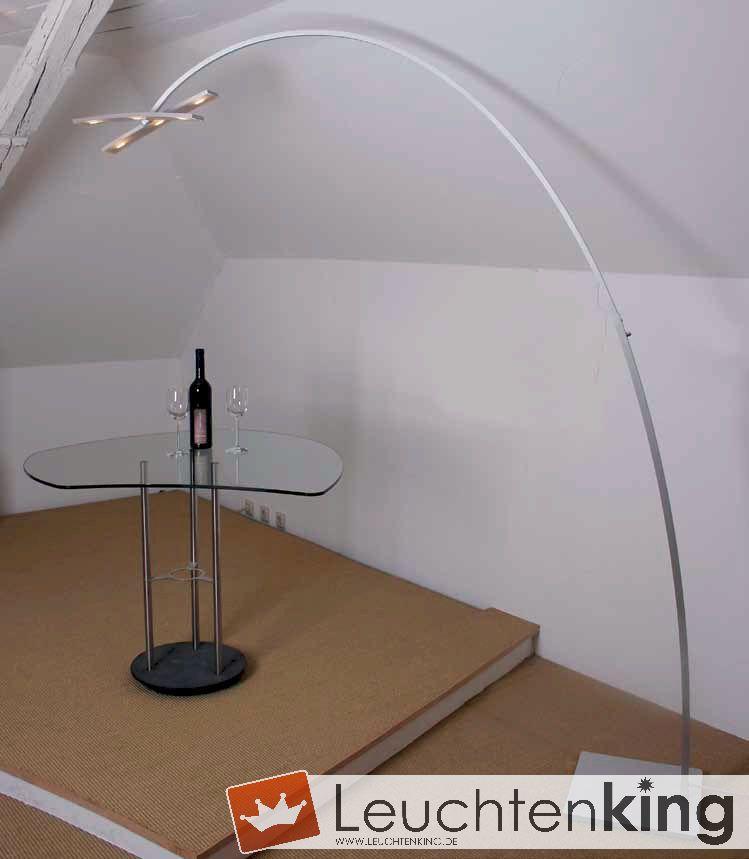 Arco Stehleuchte bopp leuchten arco bogenleuchte stehleuchte 6 flammig 27340609