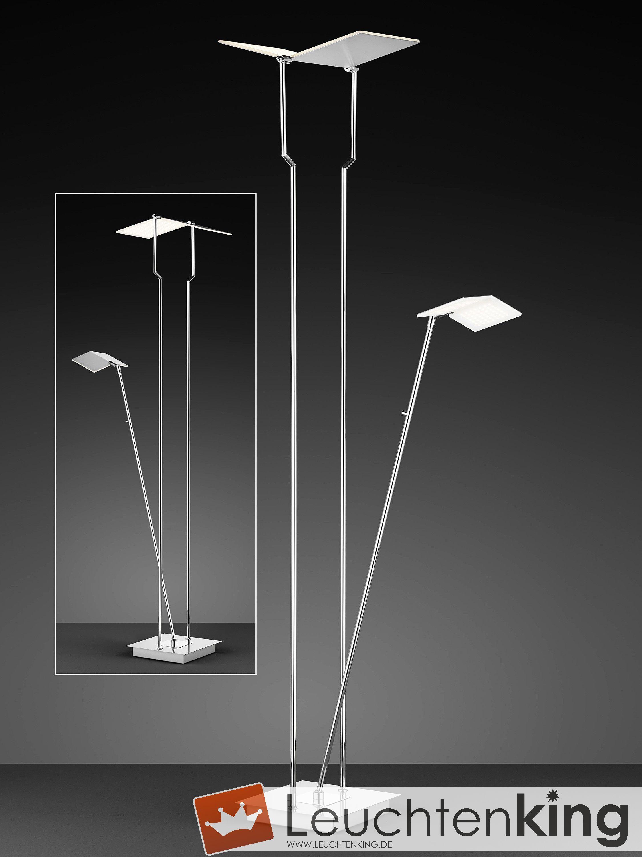 Book LED-Standleuchte mit Lesearm von BANKAMP Leuchtenmanufaktur