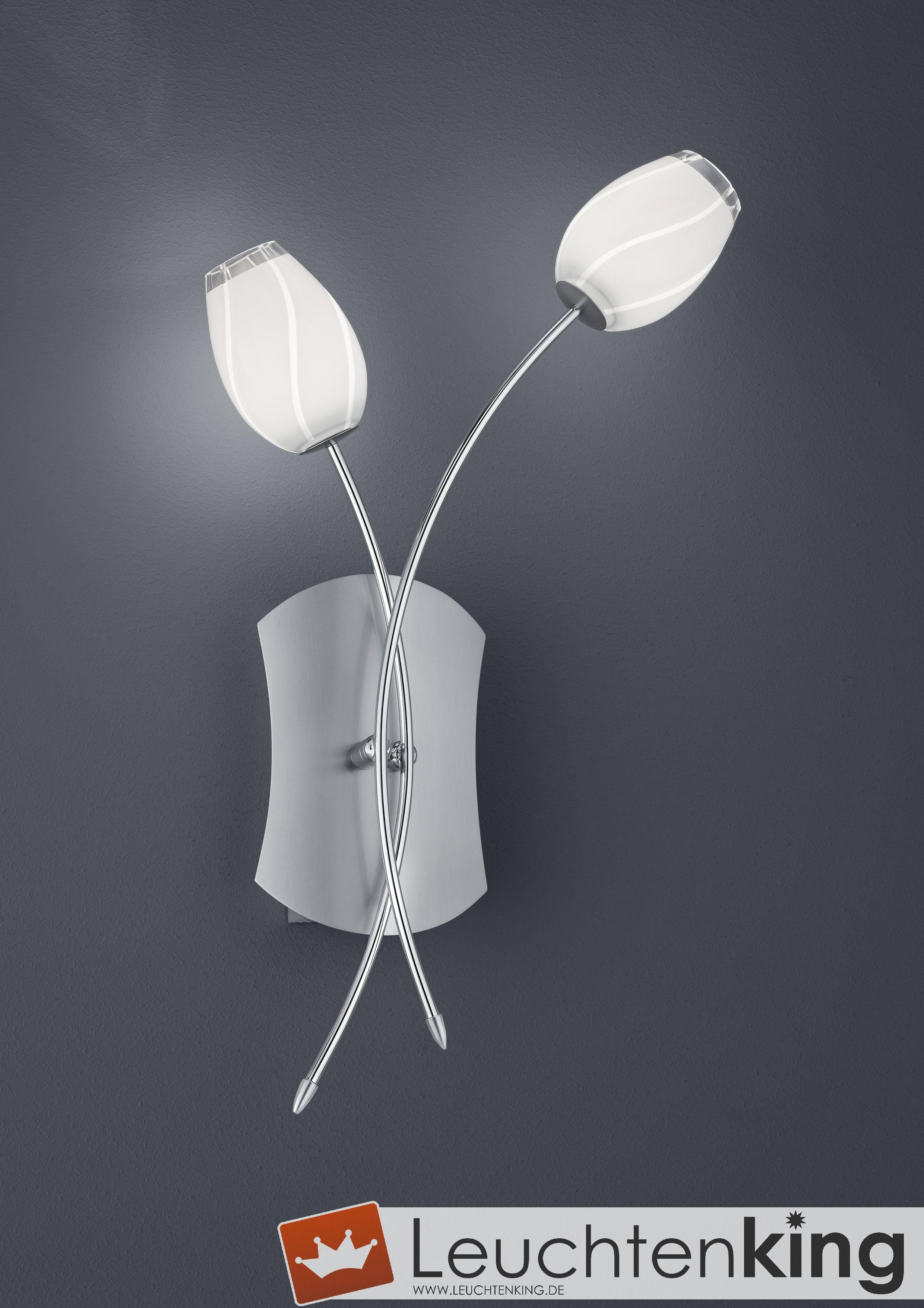 Bankamp Leuchten Tulip LED-Wandleuchte mit Schalter 4293/2-92 ...