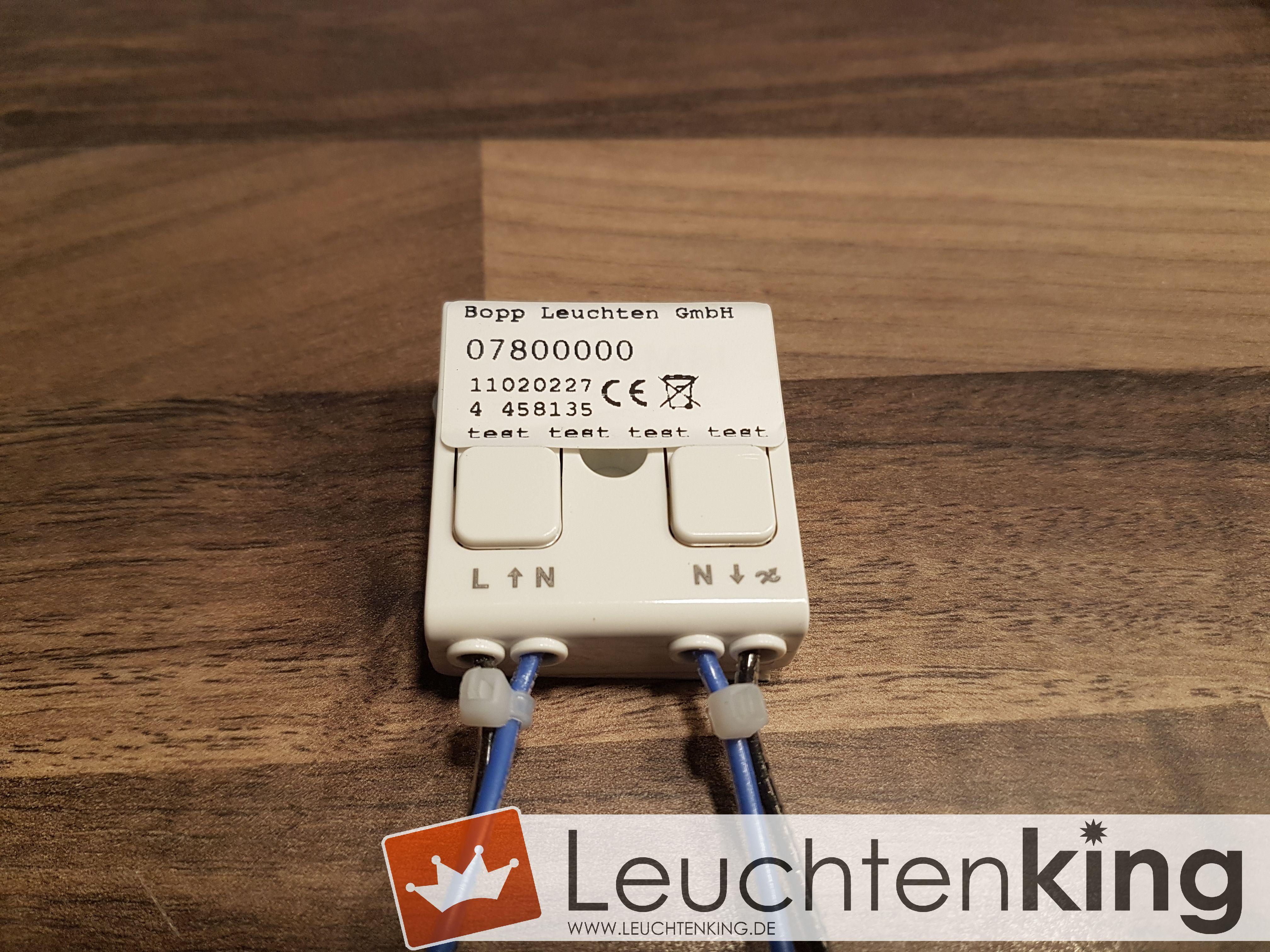 Bopp LeuchtenCASAMBI Bluetooth- Nachrüstmodul für Bopp-Leuchten mit LED-Bändern07800000
