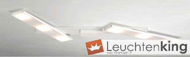 bopp slight led deckenleuchte 6 flammig flexibel 46380609. Black Bedroom Furniture Sets. Home Design Ideas