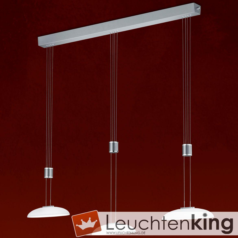 BANKAMP LeuchtenmanufakturLED-Pendelleuchte Vetro2046/3-92