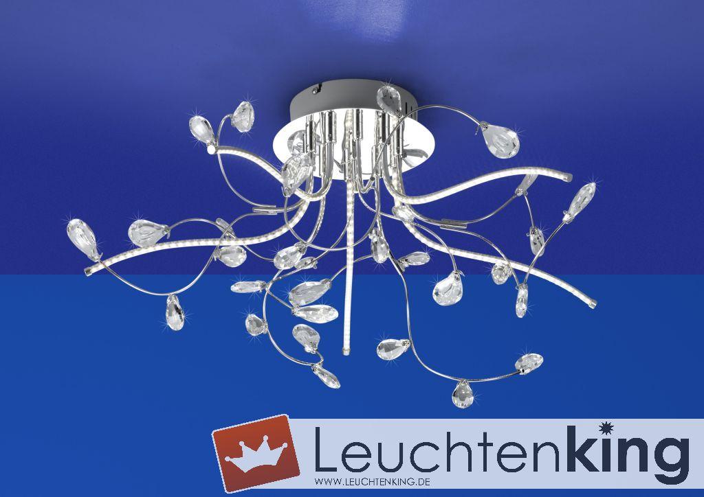 B-Leuchten LED-Deckenleuchte CRYSTAL 70326/540-02 - LEUCHTENKING