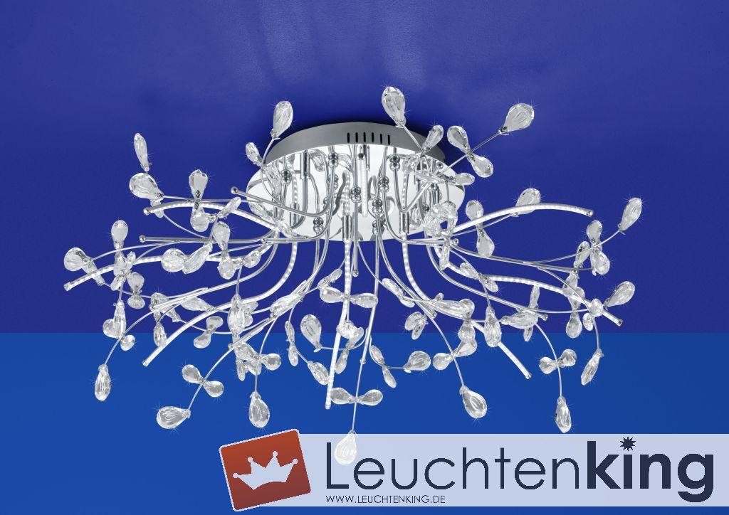 B-Leuchten LED-Deckenleuchte CRYSTAL 70327/770-02 - LEUCHTENKING